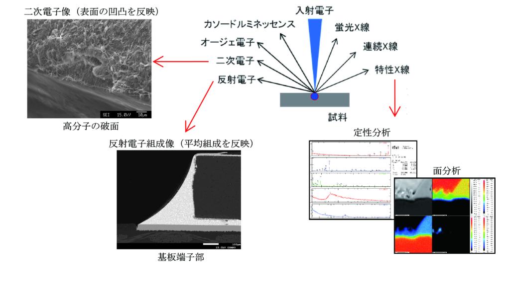 EPMA検出信号の種類